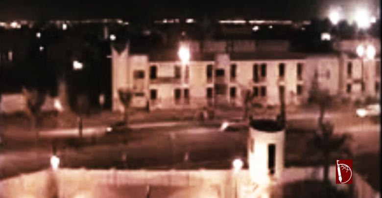 Photo of تفجير مجسم لدوار اللؤلؤة نتج عنه إصابة عنصرين من قوات العدو