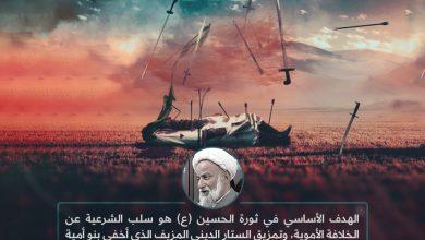 Photo of الهدف الأساسي في ثورة الحسين